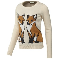 Adidas Women's NEO Lifestyle Apparel FOX SWEATER http://goo.gl/va5POQ