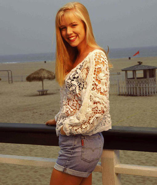 Kelly Taylor Beverly Hills 90210 Lace Crochet