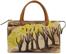 MARNI BOWLING BAG WITH FOREST PRINT http://goo.gl/Ujc4l1