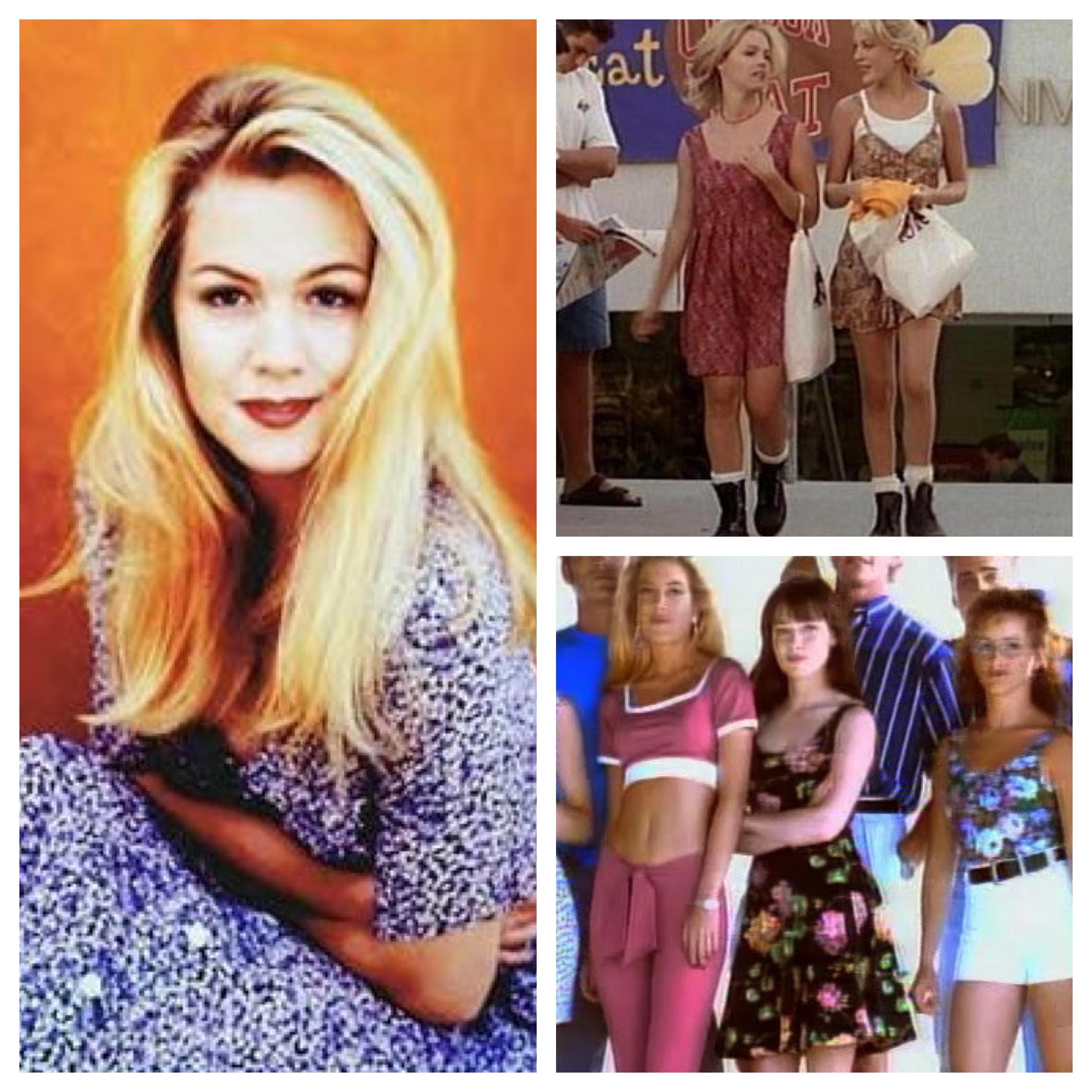 Beverly Hills 90210 Floral Dresses