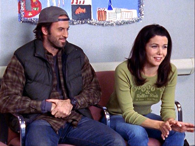 Luke and Lorelai Gilmore Girls Forgiveness and Stuff Christmas