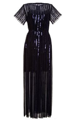 MARC JACOBS Sequined and Embroidered Pleated Midi Dress http://bit.ly/1hQVGex