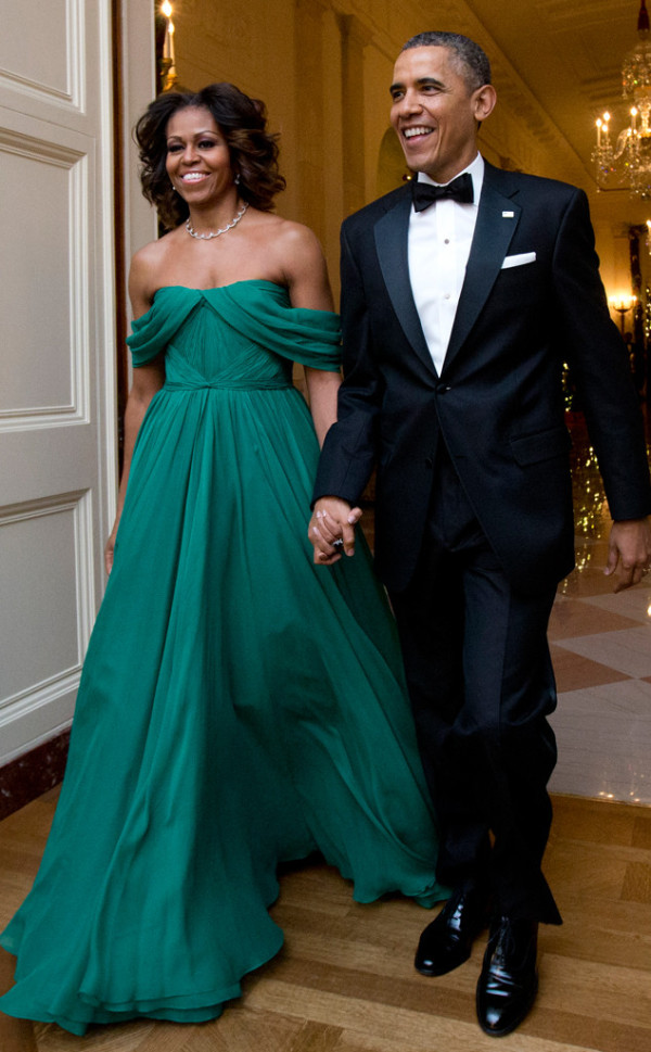 Michelle Obama in Marchesa 36th Kennedy Center Honors Gala