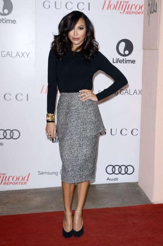 Naya Rivera in Michael Kors Hollywood Reporter 22nd Annual Women in Entertainment Breakfast in Beverly Hills