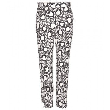 Stella McCartney PRINTED SILK TROUSERS http://goo.gl/vBq7bS
