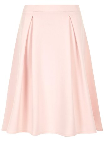 Dorothy Perkins Pale pink pleated midi skirt tiny.cc/7v9p9w