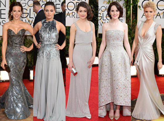 Metallics Golden Globes