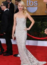 Naomi Watts: Looked Lovely in Lace! In Marchesa at the 2013 SAG Awards.