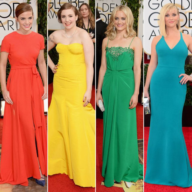 Rainbow-Dresses-Golden-Globes ROYGBIV