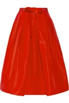 TIBI Pleated silk-faille skirt tiny.cc/lx9p9w
