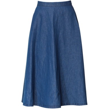 ZARA DENIM MIDI SKIRT tiny.cc/vq9p9w