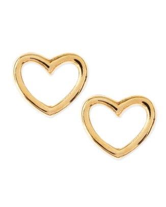 MARC by Marc Jacobs Love Heart Stud Earrings