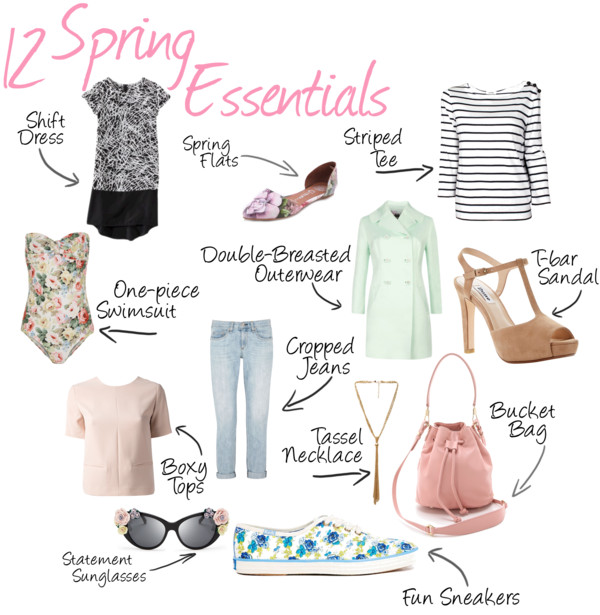 12 Spring Fashion Essentials