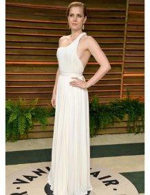 Amy Adams in Carolina Herrera {Vanity Fair Oscar Party}