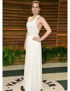 Amy Adams in Carolina Herrera {Vanity Fair Oscar Party}