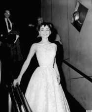 Audrey Hepburn in Hubert de Givenchy, 1954