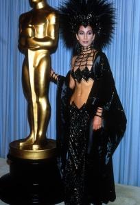Cher in Bob Mackie, 1986