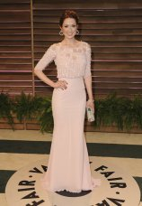 Ellie Kemper in Georges Hobeika {Vanity Fair Oscar Party}