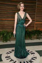 Evan Rachel Wood in Elie Saab {Vanity Fair Oscar Party hosted by Graydon Carter}