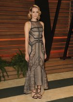Jenna Malone in Dana Rebecca Designs {Vanity Fair Oscar Party}