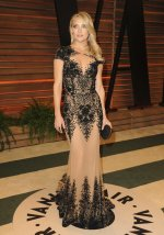 Kate Hudson in Versace {2014 Vanity Fair Oscar Party hosted by Graydon Carter}