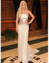 Lady Gaga in Versace {Vanity Fair Oscar Party}