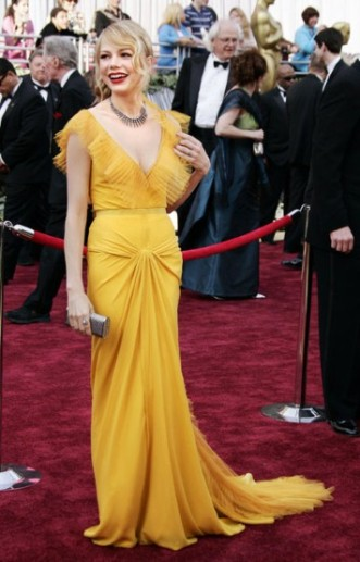 Michelle Williams in Vera Wang, 2006