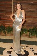 Miranda Kerr in Kaufmanfranco {Vanity Fair Oscar Party}