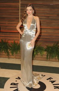 Miranda Kerr in Kaufmanfranco {Vanity Fair Oscar Party}