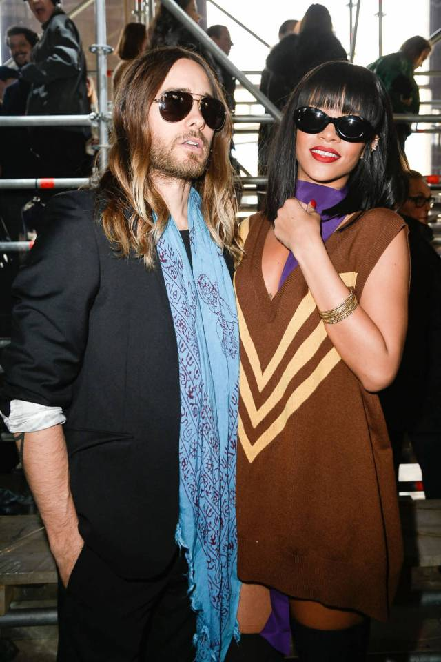 Miu Miu | Rihanna and Jared Leto in Prada
