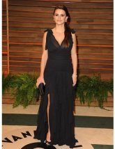 Penelope Cruz in H&M {2014 Vanity Fair Oscar Party}