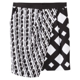 Peter Pilotto® for Target® Skirt -Black:White Print