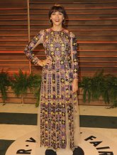 Rashida Jones in Dior {Vanity Fair Oscar Party}
