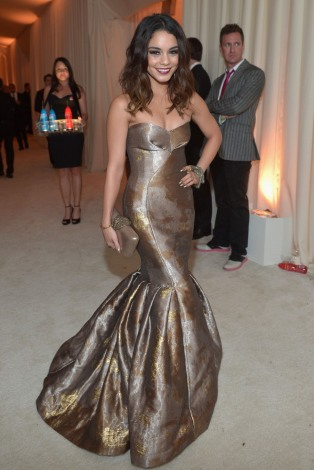 Vanessa Hudgens in Philosophy {22nd Annual Elton John AIDS Foundation's Oscar Viewing Party}