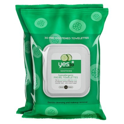 Yes To Cucumbers Face Cleanser Towelettes