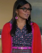 Mindy is the Doctor of mixing Prints! {kate spade new york 'judy' skirt} http://goo.gl/ZAuiMI {kate spade new york Glady's Cardigan} http://goo.gl/pKnK10
