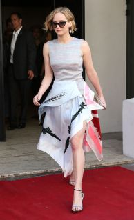 Jennifer Lawrence Dior 2015 Resort