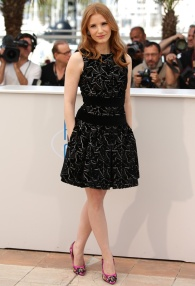 Jessica Chastain in Alexander McQueen Fall:Winter 2014-2015