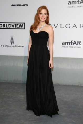 Jessica Chastain in Givenchy Haute Couture by Riccardo Tisci