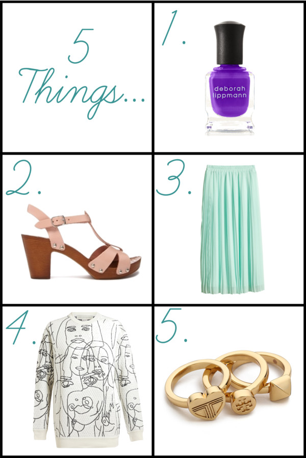 5 Things... June 18