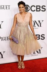 Alicia Quarles arrives at the 2014 Tony Awards Red Carpet.
