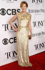 Anna Gunn arrives at the 2014 Tony Awards Red Carpet.