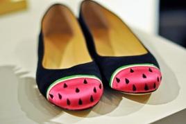 Charlotte Olympia Watermelon Flat