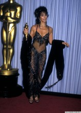 Cher in Bob Mackie at the 60th Annual Academy Awards