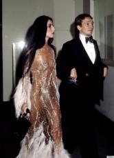 Cher in Bob Mackie At the Met Gala, 1974
