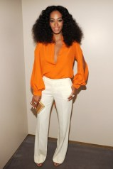 Solange Knowles wore a looks from the Gucci autumn/winter 2014 collection at the Chime For Change anniversary party, New York - June 2 2014