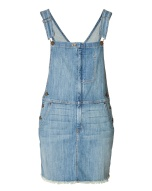 CURRENT/ELLIOTT Overall Dress in Denim