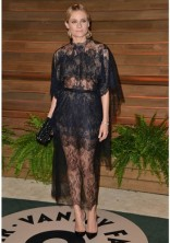 DIANE KRUGER In a Valentino dress at the Annual Academy Vanity Fair Party in 2014.