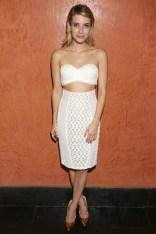 Emma Roberts In Catherine Malandrino – 2014 Maui Film Festival