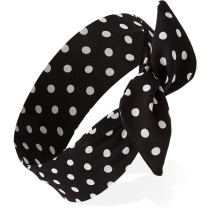 FOREVER 21 Mod Polka Dot Wire Headwrap